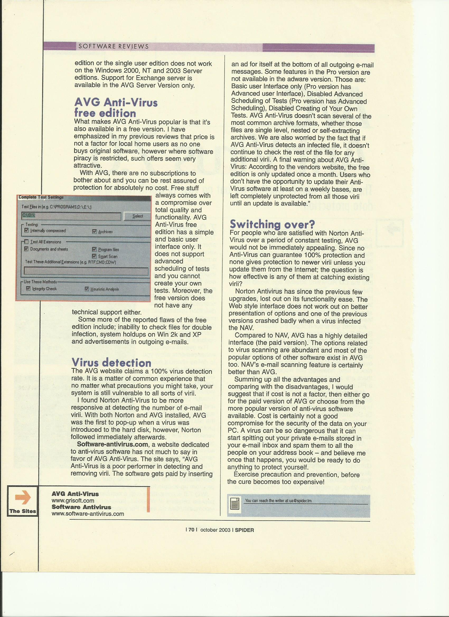 Avast vs avg free antivirus 2019 | comparison review.